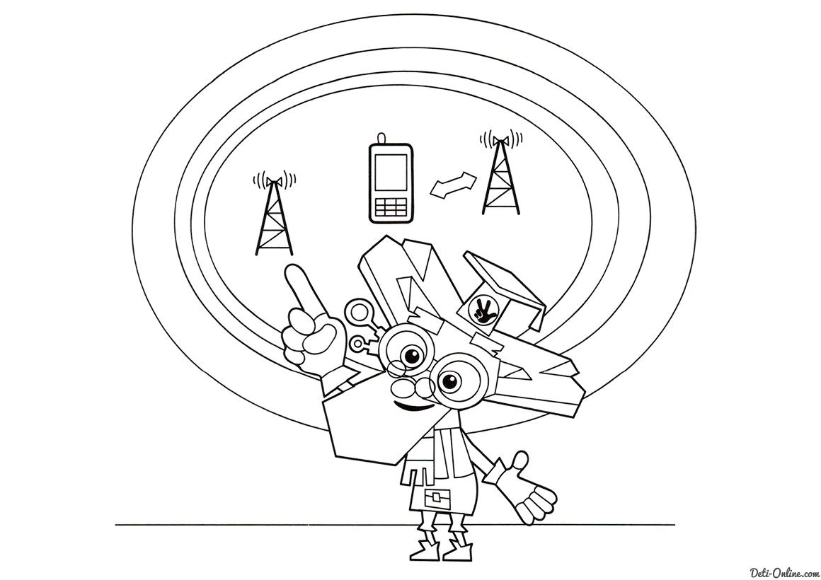Дедус и схема сотового телефона